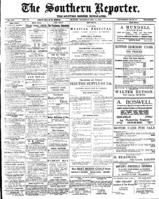 cover page of Southern Reporter published on May 17, 1923