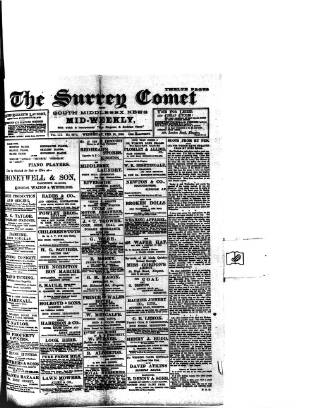 cover page of Surrey Comet published on February 28, 1906