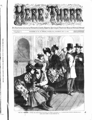 cover page of The Days' Doings published on May 18, 1872