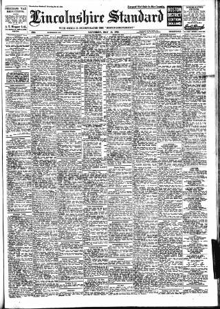 cover page of Lincolnshire Standard and Boston Guardian published on May 16, 1953