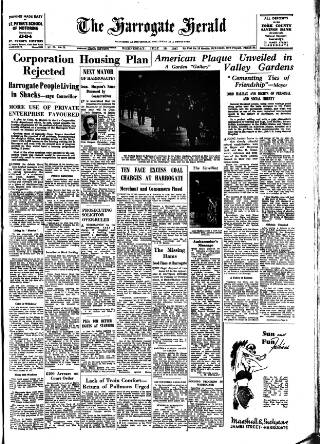 cover page of Harrogate Herald published on July 16, 1947