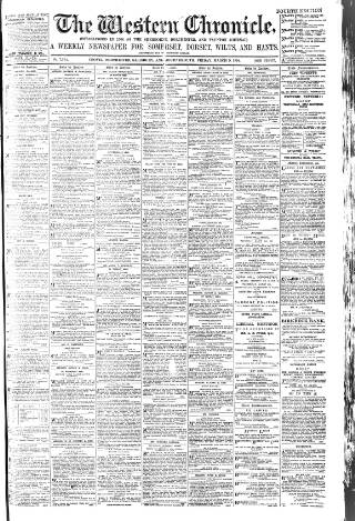 cover page of Western Chronicle published on March 9, 1894
