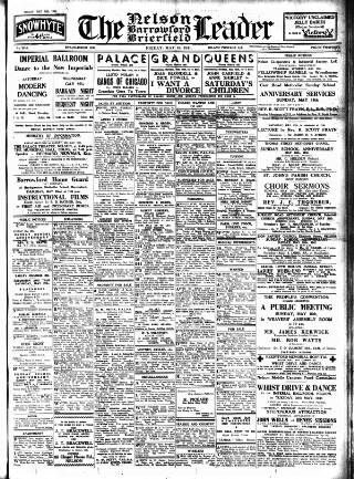 cover page of Nelson Leader published on May 16, 1941