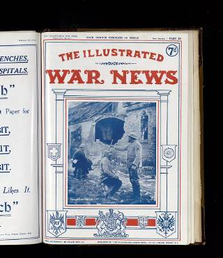 cover page of Illustrated War News published on February 28, 1917