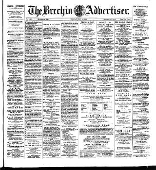 cover page of Brechin Advertiser published on May 15, 1894