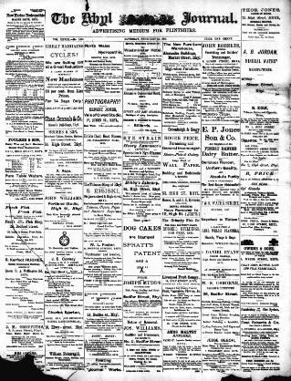 cover page of Rhyl Journal published on February 13, 1897