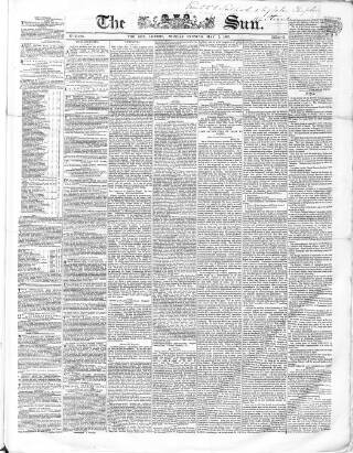 cover page of Sun (London) published on May 5, 1862