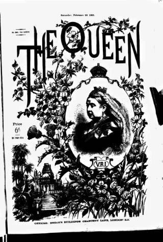cover page of The Queen published on February 28, 1891