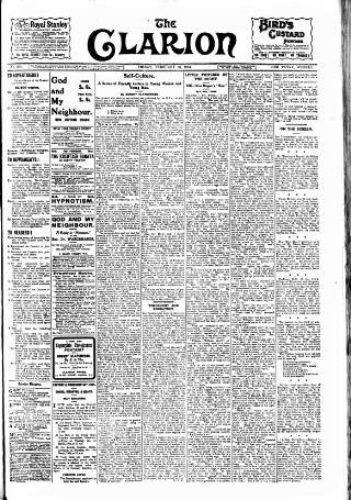 cover page of Clarion published on February 26, 1904